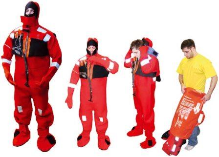 Survival suit dan Immersion suit